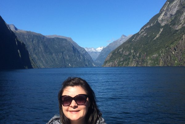 Milford Sound, described as 'the 7th wonder of the world' on the west cost of the south island of NZ.