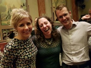 Wienke, Mollie and Tim enjoying the gala dinner!