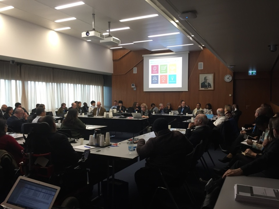 WYLD at the launch of the World Health Organization's Global Dementia Observatory