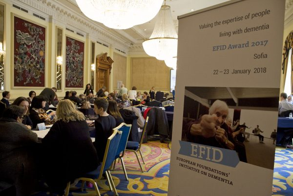 The EFID Awards 2018 took place in Sofia, Bulgaria to highlight activities that include people with dementia
