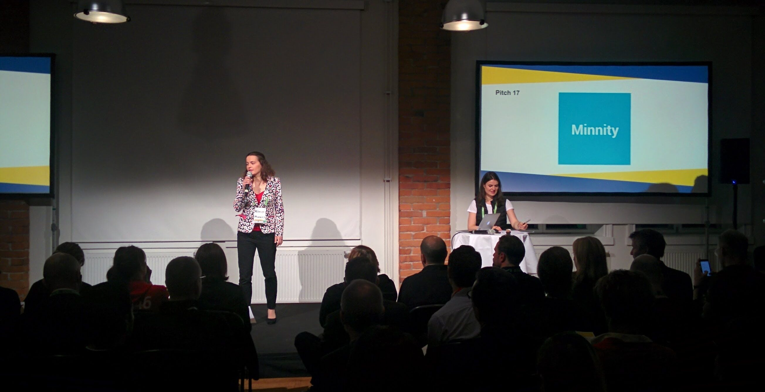 pitch at Sweden Demo Day