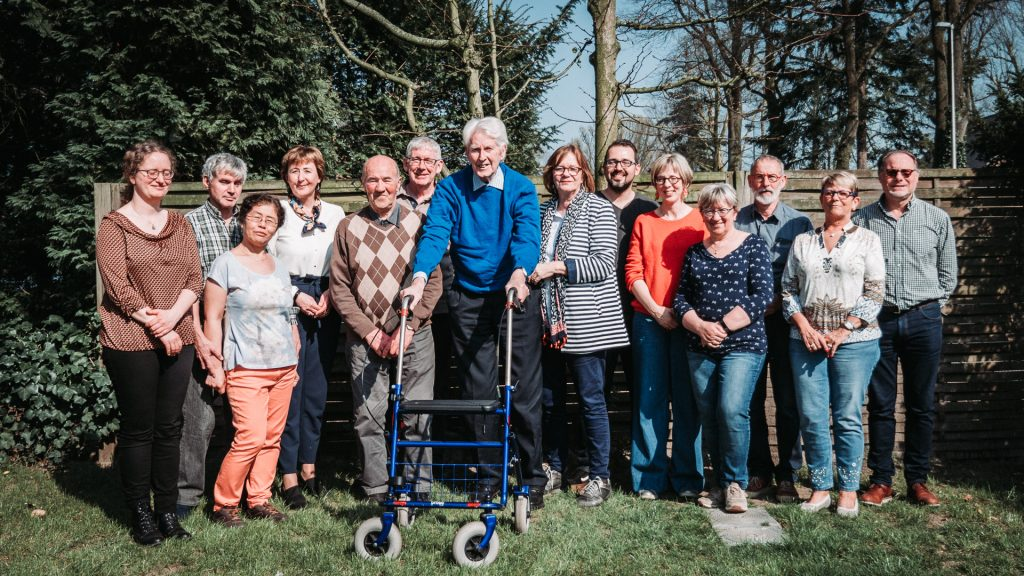 The first-ever 'Working group of people with dementia' in Flanders