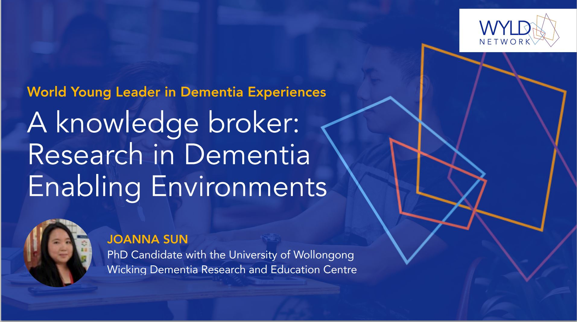 A Knowledge Broker: Research in Dementia-Enabling Environments