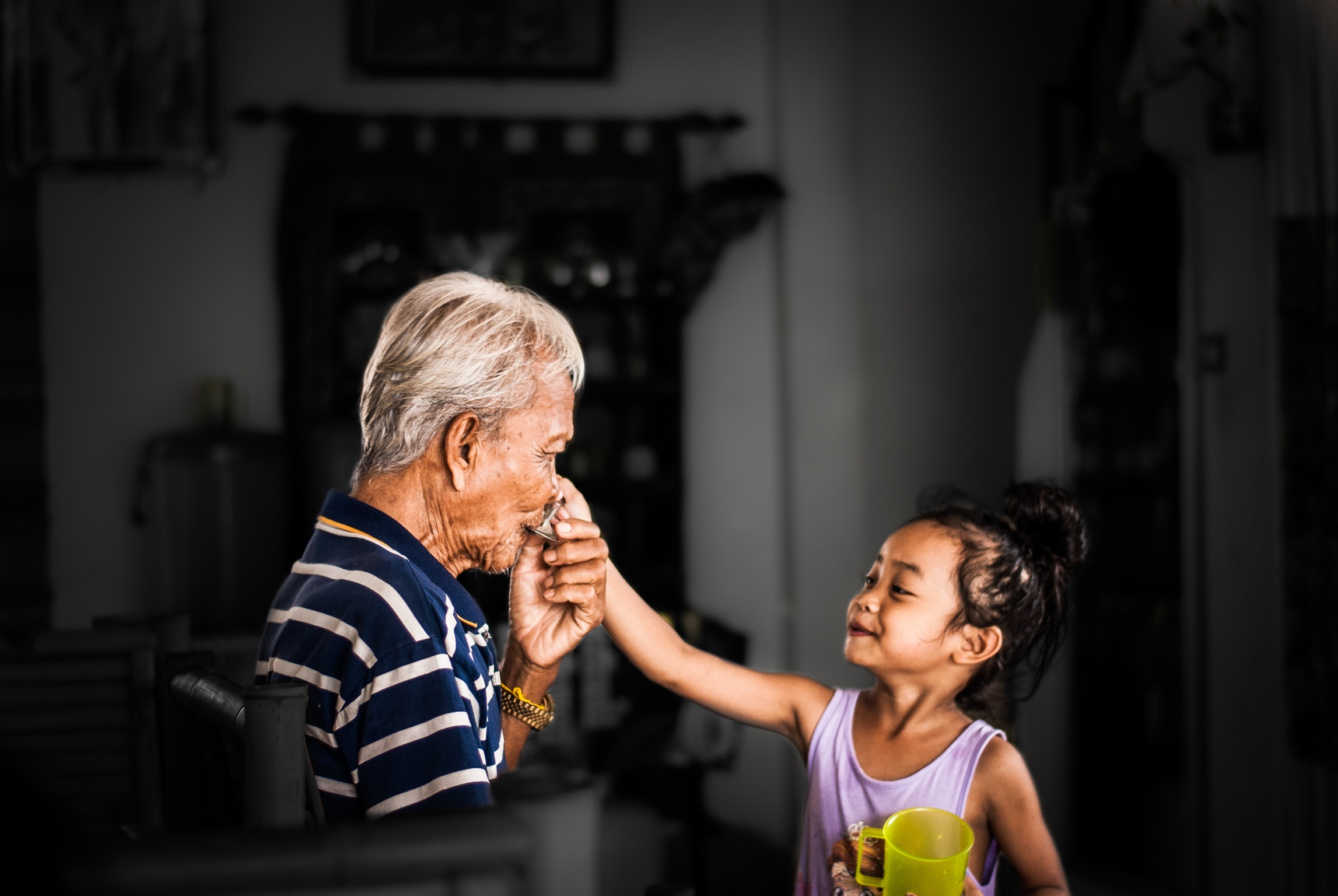 Love is a powerful thing: the benefits of Grandchild Therapy