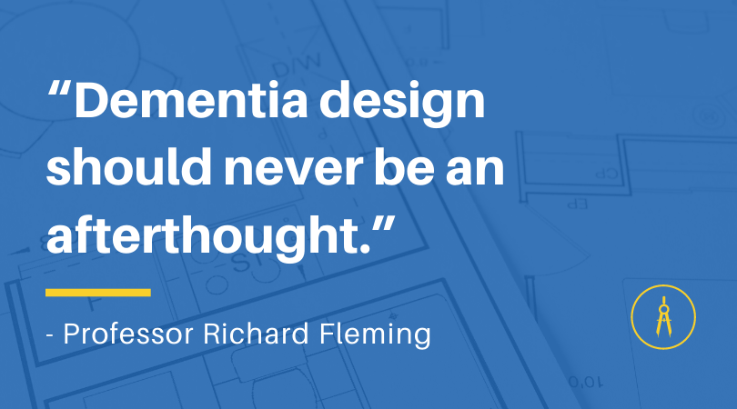 The role of education in dementia-enabling design